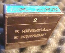 Original YAMAHA ROM 2 DX7 Version 1 Factory SOUND Orchestral Synthetic complex