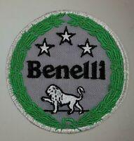 BENELLI LOGO TOPPE PATCH RICAMATE TERMOADESIVE DIAMETRO 7 CM