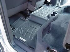 2nd row Floor Mats By Wade Black 2007 - 2012 Chevy Avalanche