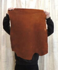 4-6 oz. Copper Buffalo Leather Hide for Native Crafts Moccasins Laces Bags