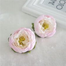 50 Silk Peony Flowers Wholesale Flowers Wedding Supplies Cake Topper Flowers Lot