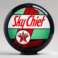 "Texaco Sky Chief 13.5"" Gas Pump Globe w/ Black Plastic Body (G196)"