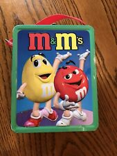 """2001 M & M's 8"""" Collectible Childrens size Lunch box"""