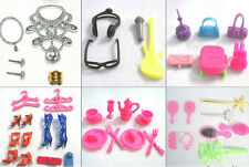 Best Lots Mixed Vintage & Modern Doll Accessories Shoes For Barbie Doll Make Up
