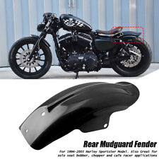 Rear Mudguard Fender For Harley Sportster XL Cafe Racer Bobber Chopper 1994-2003