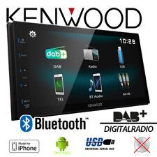 Kenwood DMX125DAB - 2-DIN | DAB+ | Bluetooth | Apple Android RADIO | Autoradio