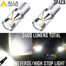 Alla Lighting LED Back Up Reverse Light Bulb/Center High Mount Stop Lamp White