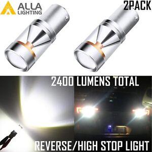 Alla Lighting LED Back Up Reverse Light Bulb/Center High Mount Stop Lamp White