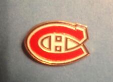 1991 Ace Montreal Canadiens NHL Hockey Collectors Lapel Hat Jacket Pin Logo A