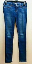 Abercrombie & Fitch Kids Jeans Size 14 Skinny Straight Dark Wash Girls  529