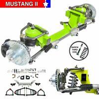 """38-41 International 26"""" Frame Mustang 2 IFS Shock Thru Coil 6x55 Man LHD Rack"""