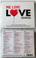 WE LOVE LOVESONGS Costello, Coldplay, Lena,... 60 Original Titel 3-CD-Box TOP