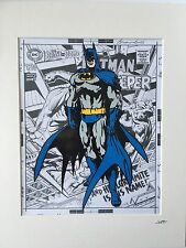 Batman - Design 1 - DC Comics - Hand Drawn & Hand Painted Cel