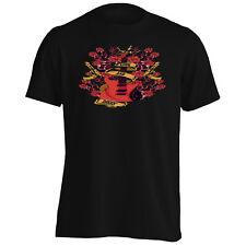 GUNS AND ROSES CHITARRA ELETTRICA T-shirt Uomo/Tank Top x308m