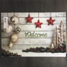 Fußmatte Weihnachten Welcome Xmas Kugeln Des.937 / 40 cm * 60 cm / € 49,79/qm