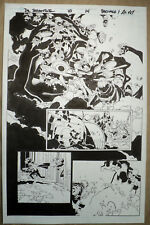 ORIGINAL ART, DOCTOR STRANGE #10 p.14, CHRIS BACHALO, AL VEY 2016; SPLASH-LIKE