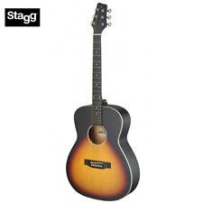 NEW Stagg SA35-A Auditorium Full Size Acoustic Guitar - Satin Sunburst LEFT HAND