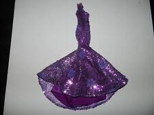 Eaki Sequin Doll Dress Gown Integrity Fashion Royalty Purple