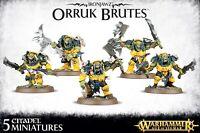 Ironjawz Orruk Brutes - Warhammer Age of Sigmar - Games Workshop - 89-29 BNIB