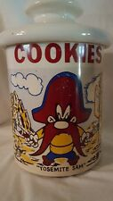 McCoy Pottery Cookie Jar Yosemite Sam Vintage 1970s