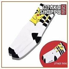 Otaku Shoppu POKEMON Iconic High Socks - Pikachu (White)