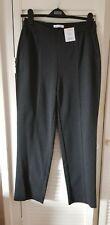 M&S Classic grey straight  leg jersey trousers size 10 regular BNWT £19.50