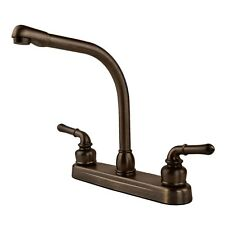 RV / Mobile Home High Rise Kitchen Sink Faucet, Oil Rubbed Bronze