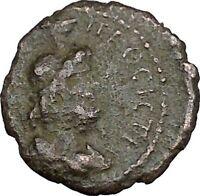 SEPTIMIUS SEVERUS  Nicopolis ad Istrum Ancient Roman Coin Serapis Osiris i48357