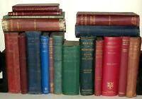 18 Medical Interest Books - Hardback Book Collection. 1900's  Various Titles