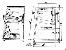 JBL L300 Summit Speaker Loudspeaker Cabinet Plans Drawings