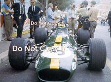 Jacky Ickx Brabham BT26A Monaco Grand Prix 1969 Photograph