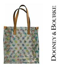 DOONEY & BOURKE Signature DB Small Clear Lunch Mini Tote Handbag Multi Color