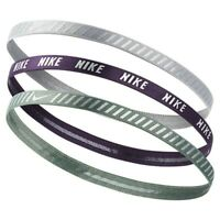 NIKE Adult Headbands 3 Pack Unisex Size One Size Fits Most