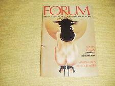 vintage FORUM Vol 4 No 11 '76 The Australian Journal Of Interpersonal Relations