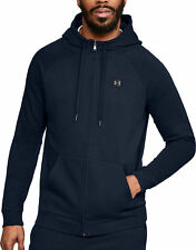 Under Armour Rival Mens Full Zip Training Hoody - Navy