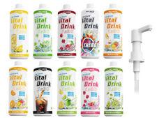 Best Body Nutrition Vital Drink 1000ml (ohne oder mit Dosierpumpe) Getränkesirup