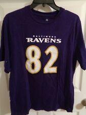 NWOT Baltimore Ravens Torrey Smith #82 NFL Team Youth size 18 Purple