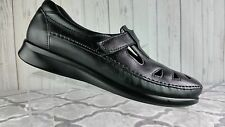 SAS TRIPAD COMFORT T-STRAP MARY JANE OXFORD SHOES Black  MADE IN US SIZE 8.5S