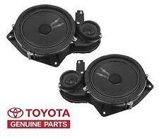 Genuine Toyota Tundra Sequoia Front Left & Right JBL Door Speakers