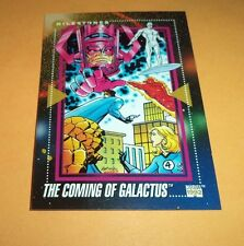 The Coming Of Galactus  # 196 1992 Marvel Universe Series 3 Base  Trading Card