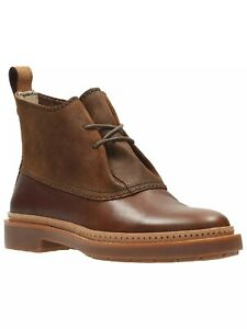 Clarks Boots TRACE FAWN Dark Brown UK 6 D / EU 39.5 RRP £105 New In Box
