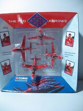 CORGI SHOWCASE CSFS07004, RED ARROWS 4 PIECE GYPO SET 40TH ANNIV, 1965-2004