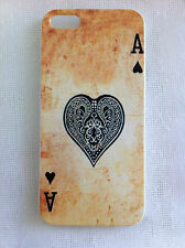 Vintage Poker Card the Ace of Spades Printed iPhone 5 5s Case for Apple