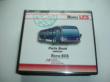Nova LFS Bus Corp Coach Transit Factory PARTS BOOK Catalog Manual Shop Service