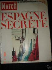 PARIS MATCH Espagne Algerie Jazy Magnani Beatles
