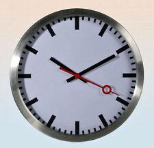 Orologio da Parete a Muro in Metallo Movimento al Quarzo 35Cm Casa Ufficio