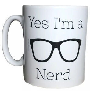 Yes I'm A Nerd Funny Gift Mug For Nerds. Mugs For Birthday, Christmas Gifts