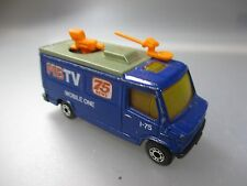 """Matchbox: 1:73 Scale, Mercedes Benz """"Mb TV 75 News"""" Mobile One (SSK42)"""