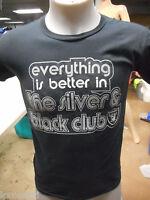 NFL Apparel Mens Oakland Raiders Silver & Black Club Football Shirt NWT S