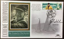 JIM SHEKHDAR, Rower, Signed 29.4.2003 Extreme Endeavours FDC Francis Chichester